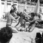 Kirk Douglas Brigitte Bardot