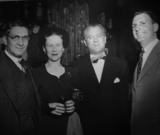 Herman and Florence Lowe, Abel Green, Herb Golden