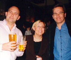 Lee Simkins Angela Mesher David Copeman